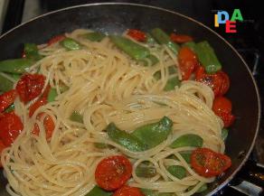 Idea mammaun gusto primo piatto con le taccole idea mamma for Cucinare le taccole