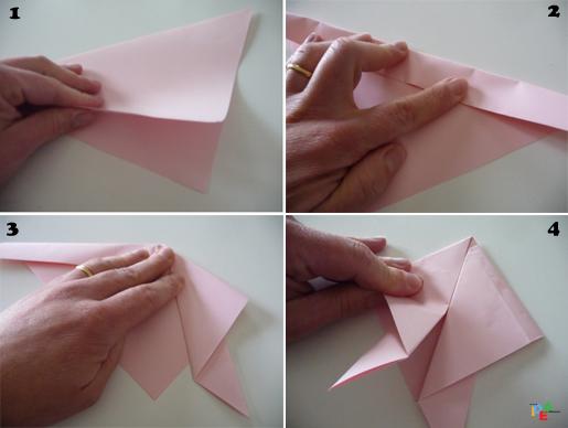 Idea mammaun origami pasquale da fare con i bambini idea for Come disegnare un piano casa passo dopo passo