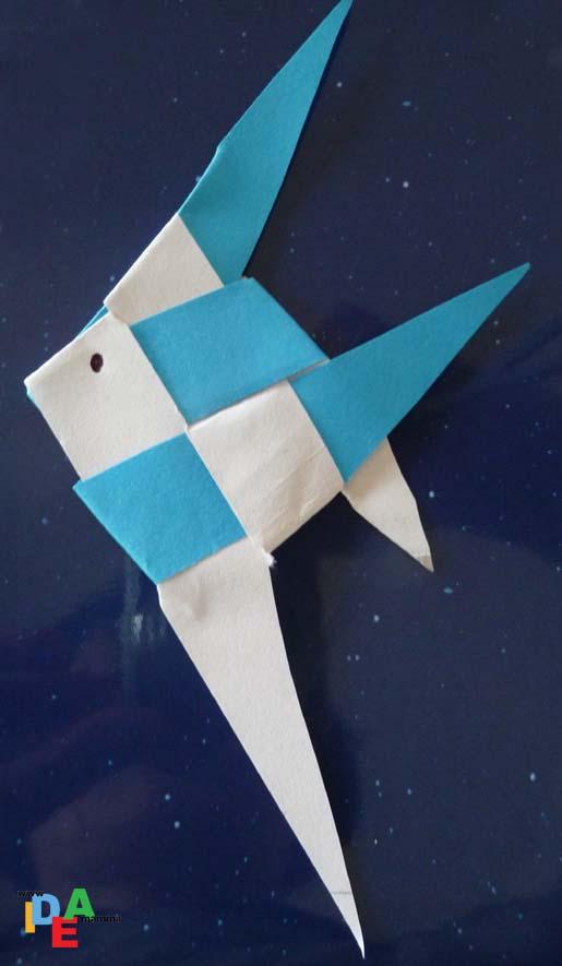 Idea Mammami Cimento Con Gli Origami Il Pesce Daprile Idea Mamma