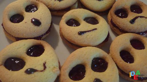 Emotional Cookies <3 | Halloween | Torte cupcake, Biscottini ...
