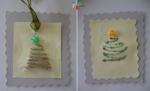 Biglietti Di Natale Con Carta Riciclata.Idea Mammachiudipacco Ecologici Dedicati All Albero Idea Mamma