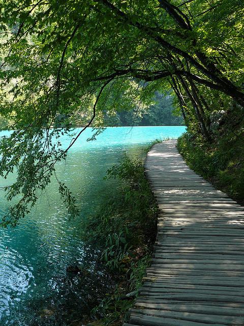 vialetto laghi di plitvice