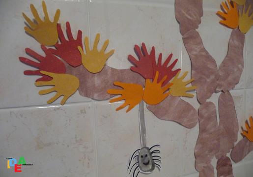 Decorazione Finestre Autunno : Idea mammala nostra parete decorata d autunno idea mamma